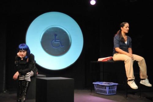Sarah M. Grant (Zoey 2) and Elena Marisa Flores (Claire)