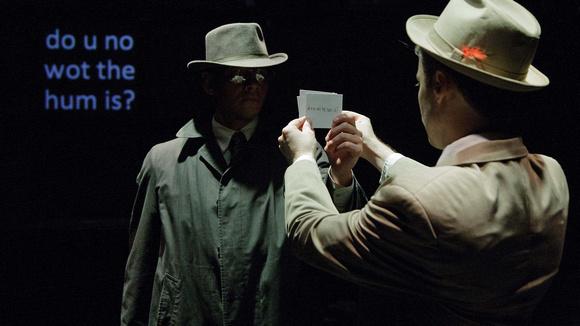 Nathaniel Mendez (Stranger) and Jon Reynolds (Van)