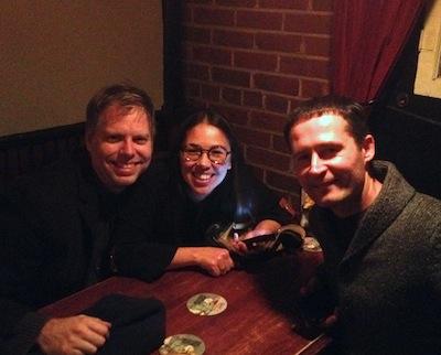 Three suspicious authors: Nicholas Wardigo, Maribel Garcia, and George Filip