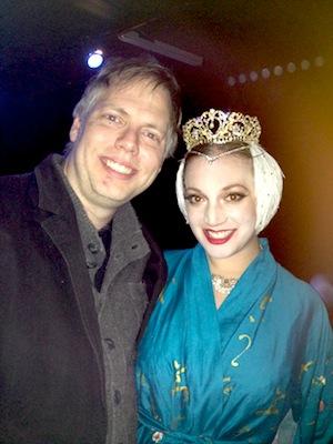 Nick Wardigo and dancer Lelu Lenore